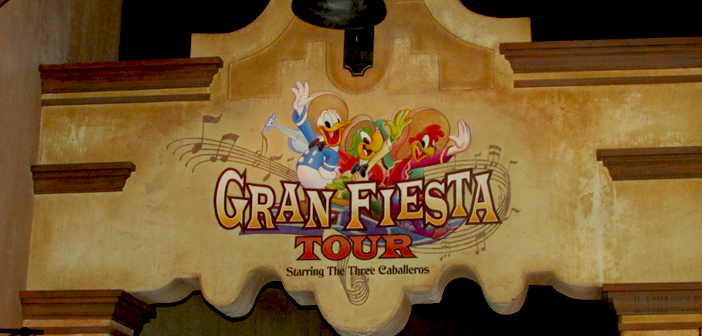 Gran Fiesta Tour with 3 Caballeros in Mexico at Epcot Disney World