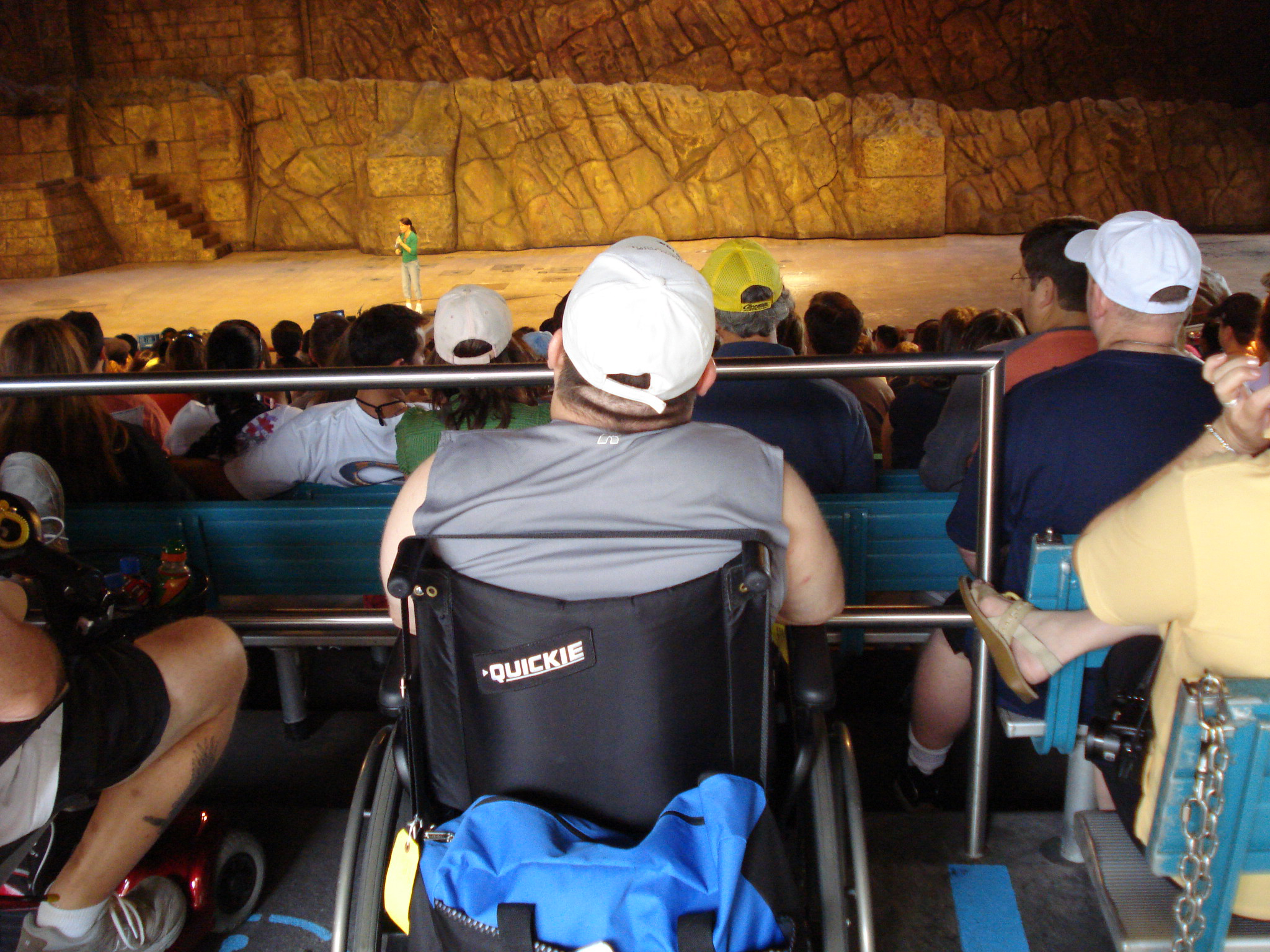 Indiana Jones wheelchair seating in the rear