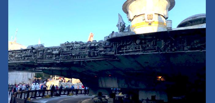 Smuggler's Run Hollywood Studios Disney World ship