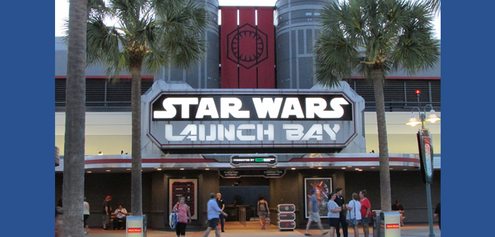 Star Wars Launch Bay - Hollywood Studios - Disney World header