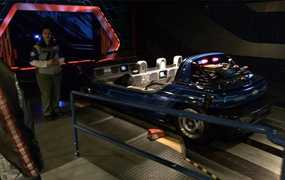 Test Track Alternative Boarding Area