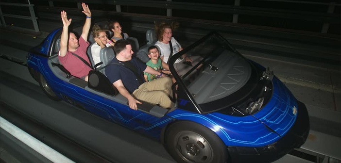 Test Track at Epcot in Disney World