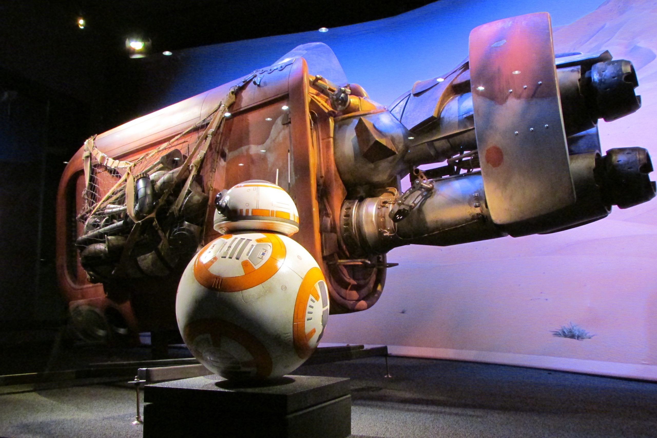 bb-8 at Star Wars Launch Bay - Hollywood Studios - Disney World