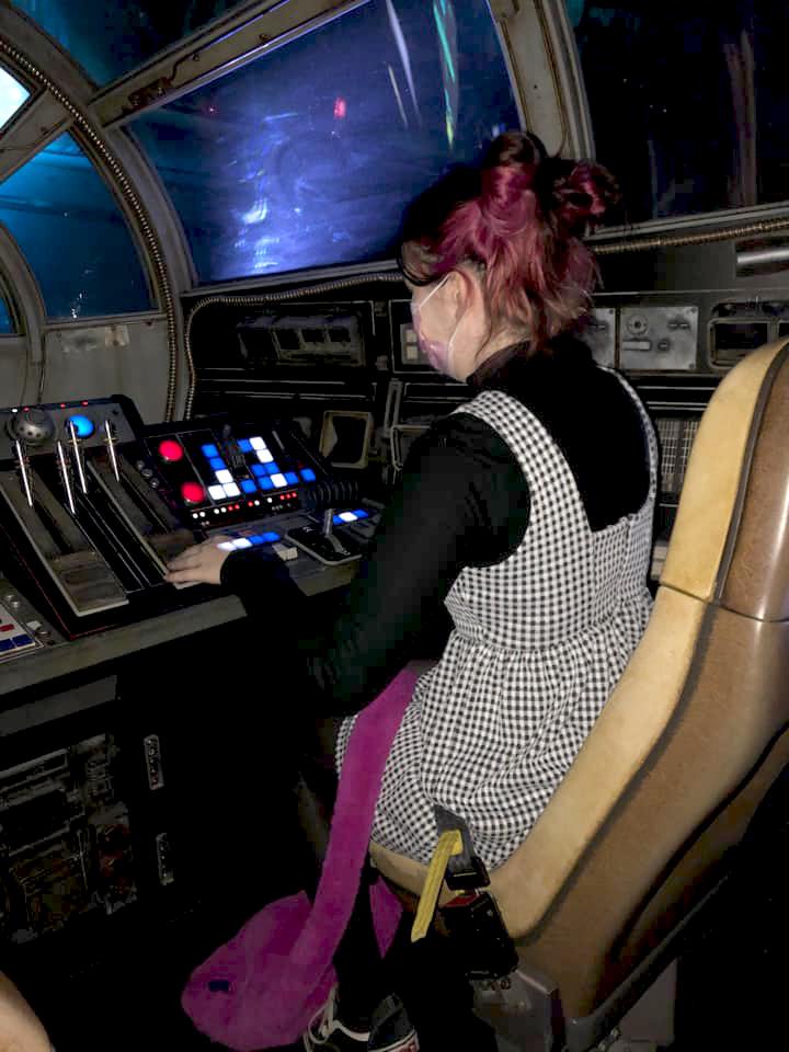 Pilot seat in Smuggler's Run