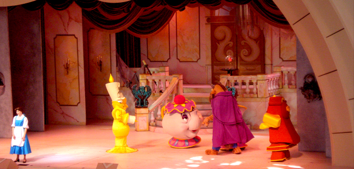 Beauty and the Beast show in Hollywood Studios at Disney World 2