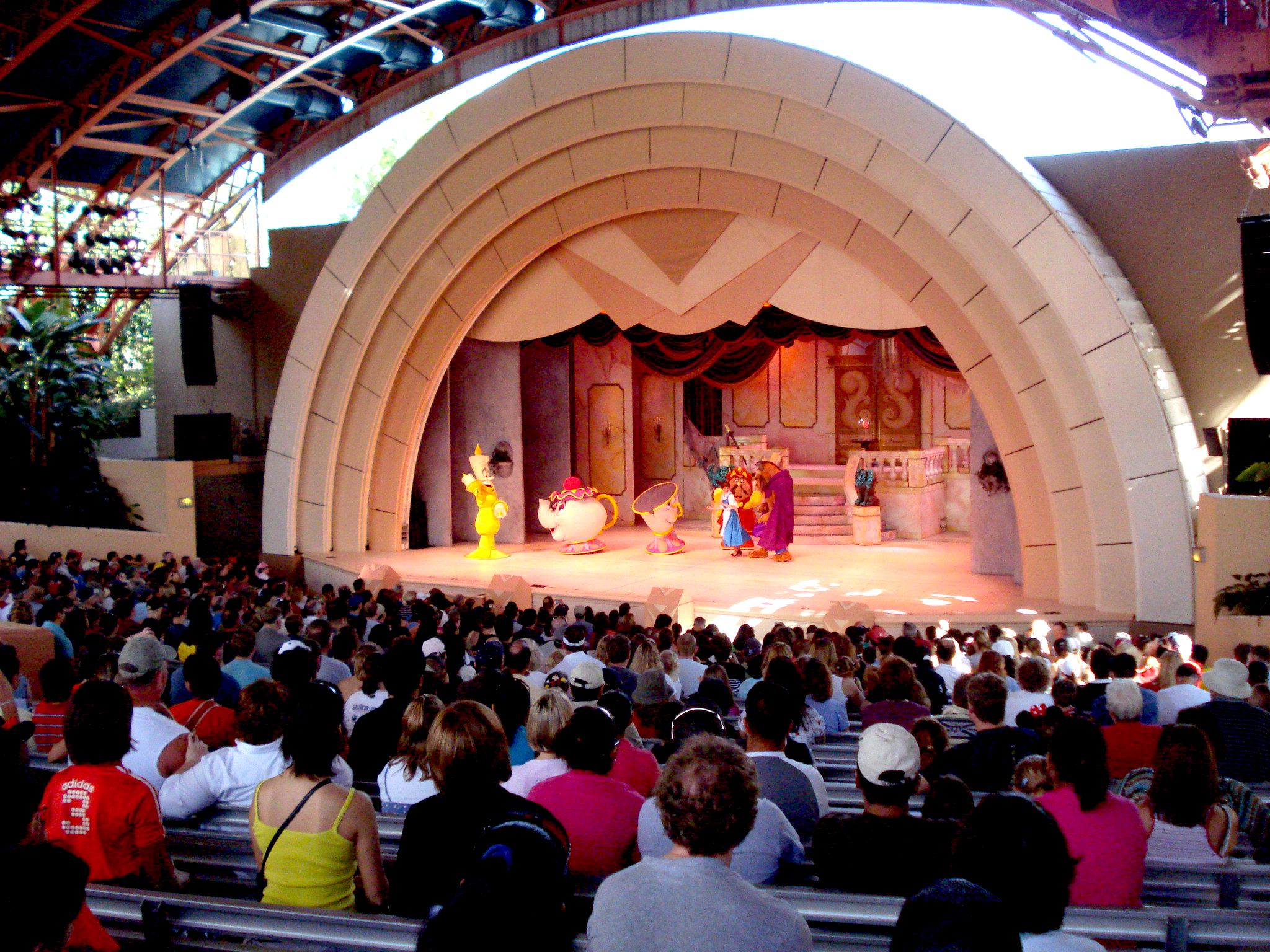 Beauty and the Beast theater in Hollywood Studios at Disney World 1