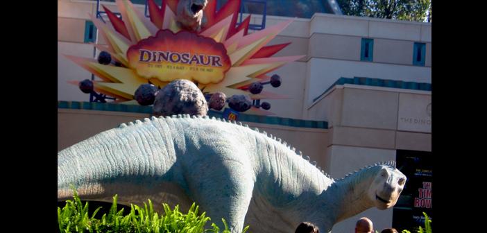 Dinosaur at Animal Kingdom in Disney World