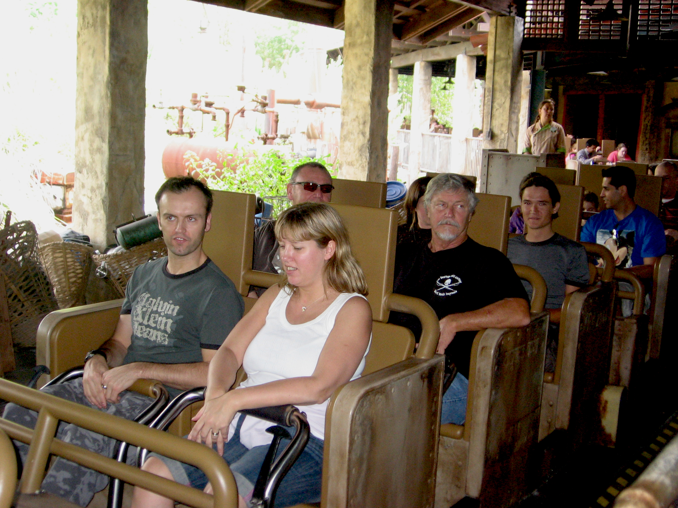 Expedition Everest ride cars