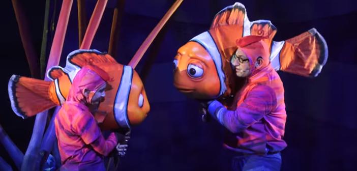 Finding Nemo at Animal Kingdom in Disney World