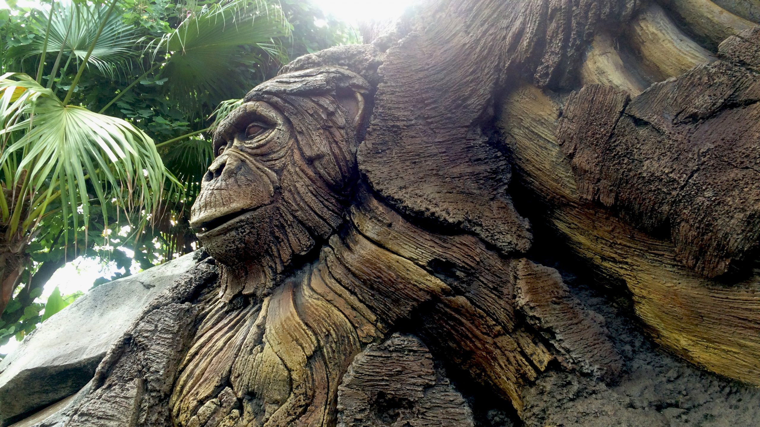 It's Tough to be a Bug Sculptures on The Tree of Life in Animal Kingdom