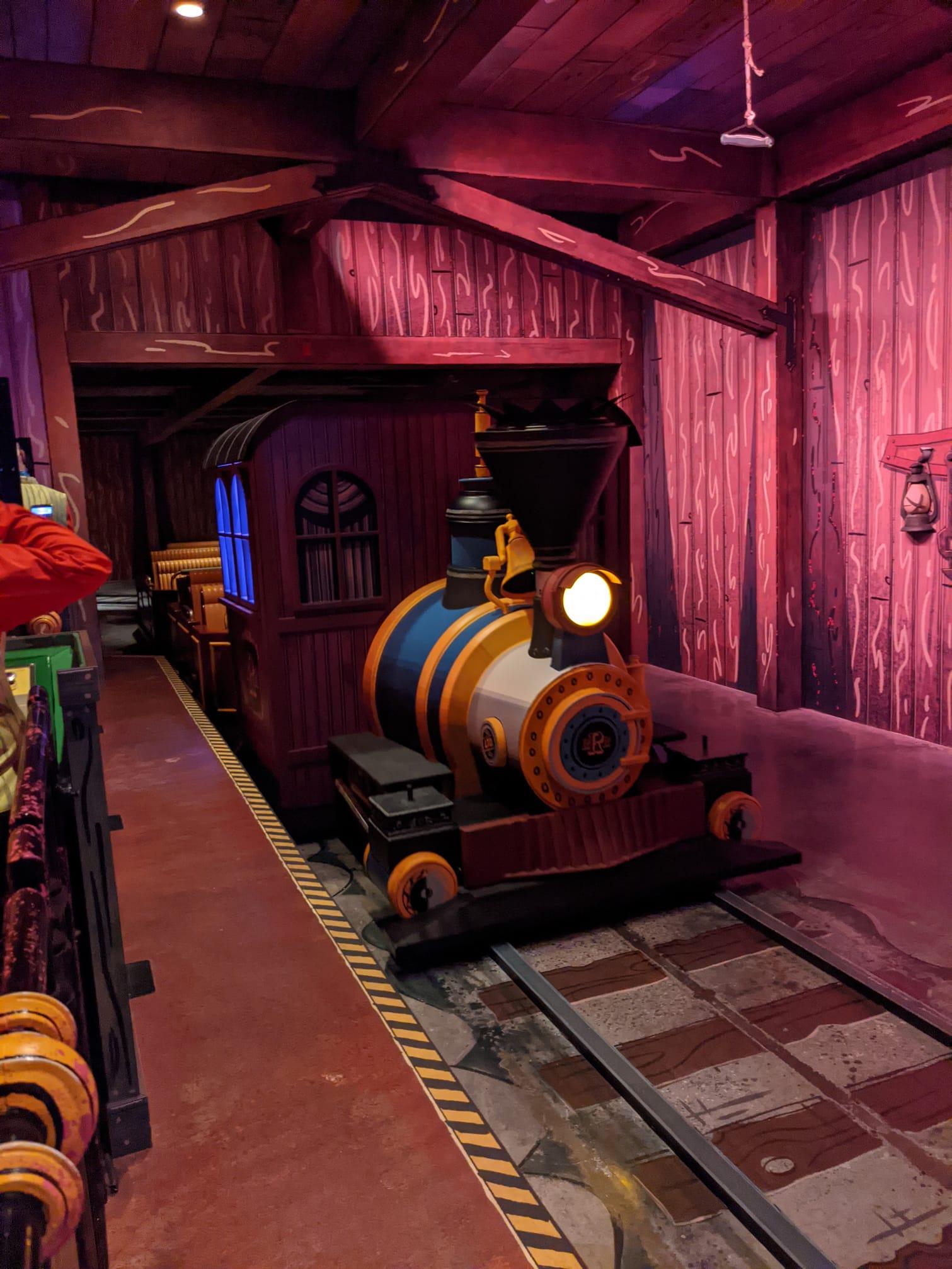 Mickey and Minnie's Runaway Train