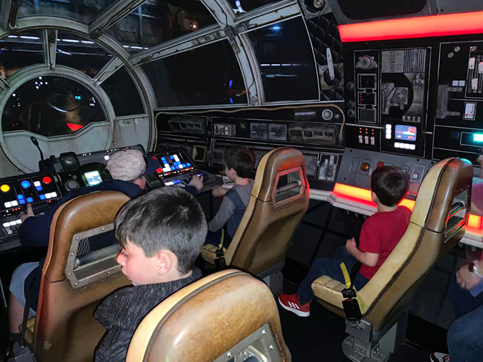 Smuggler's Run ride cabin 3
