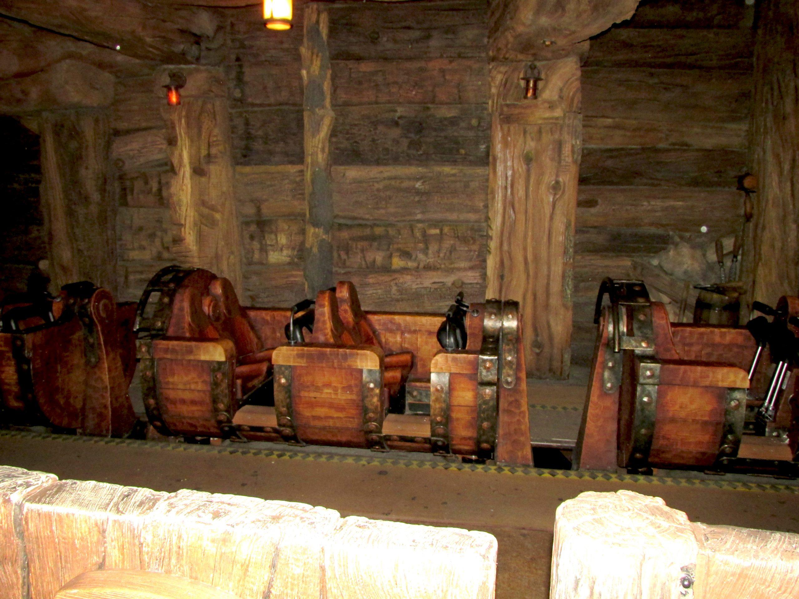 Seven Dwarfs Mine Train ride car