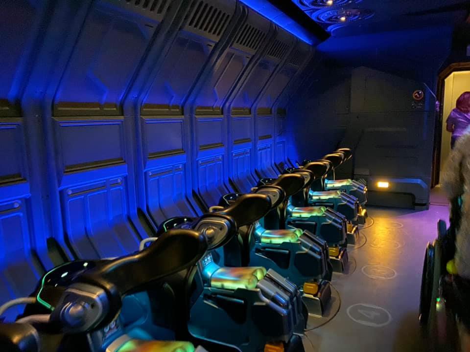 Flights of Passage ride seats