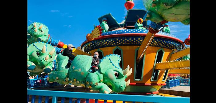 Triceratop Spin at Animal Kingdom in Disney World