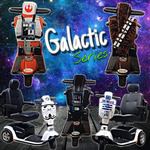Galactic scooters from BVR