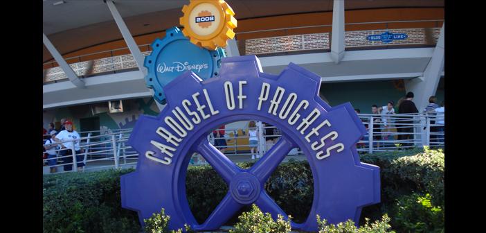 Carousel of Progress in magic kingdom disney world