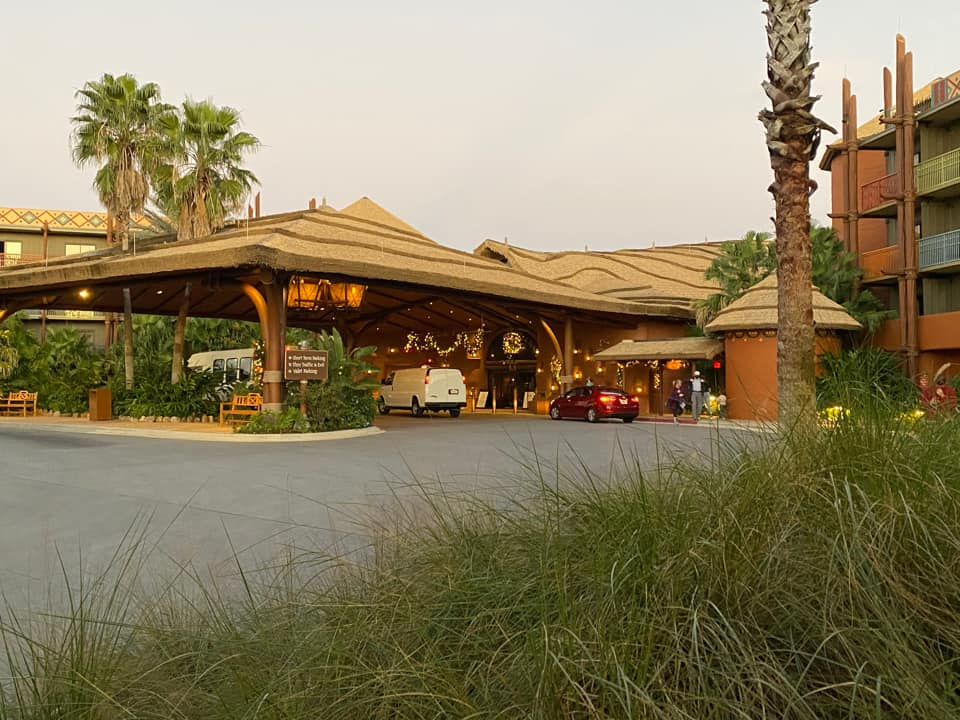 Entrance to Jambo House in Animal Kingdom Lodge