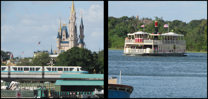 Transportation in Orlando and at Disney World