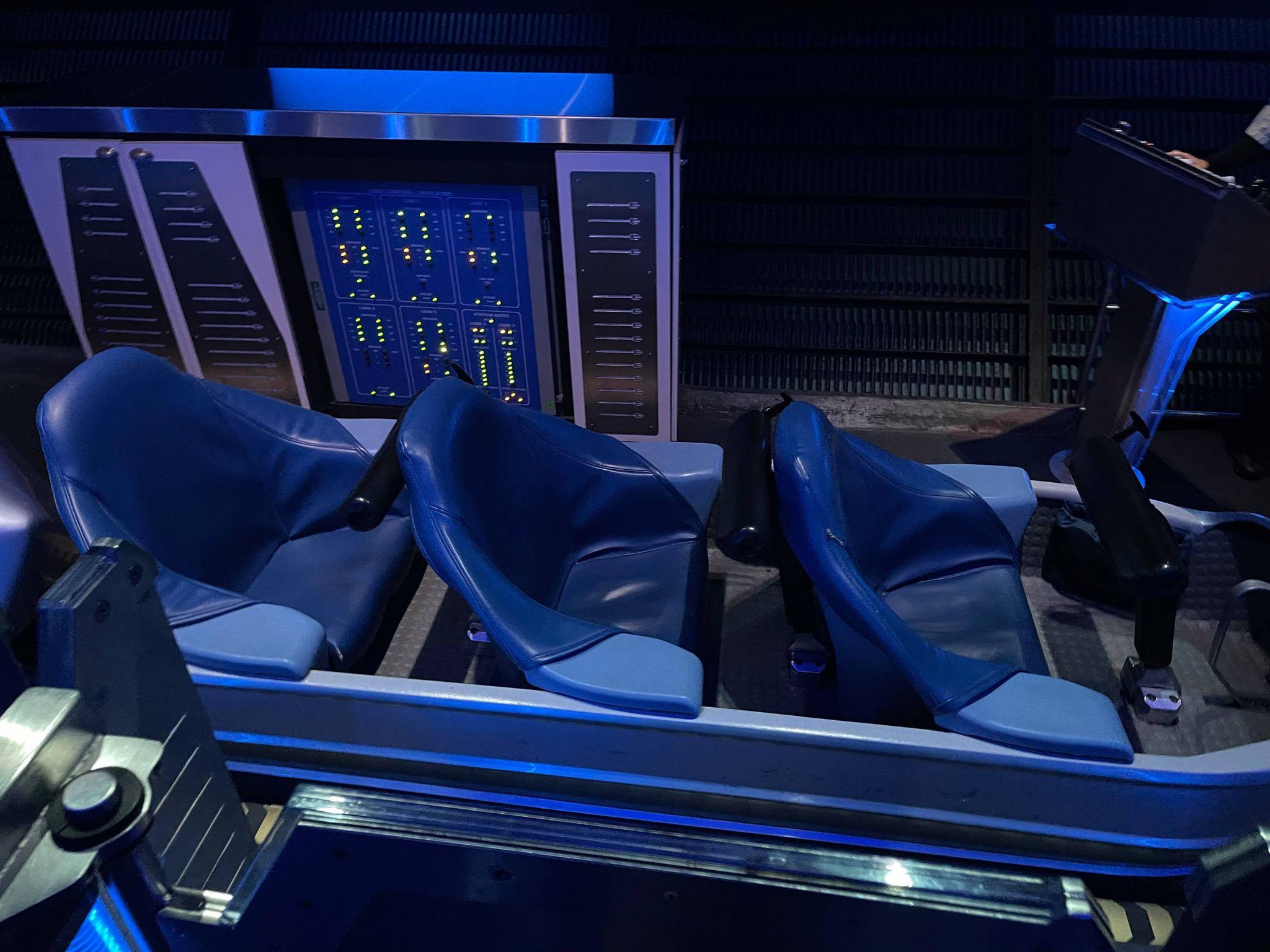 Space Mountain ride car