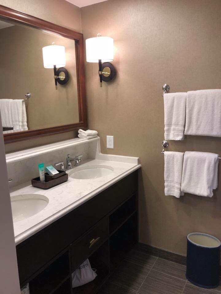 Yacht Club bathroom double sinks