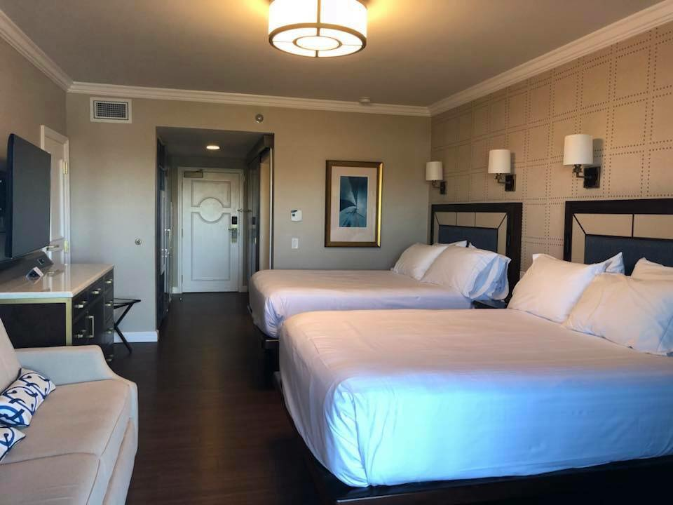 Disney's Yacht Club Resort room