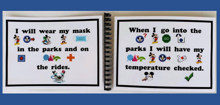 Social Story Book for Disney World Preparation