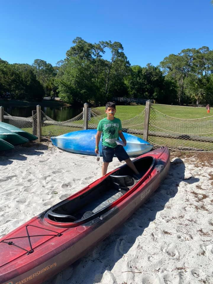 Canoe rentals at Fort Wilderness