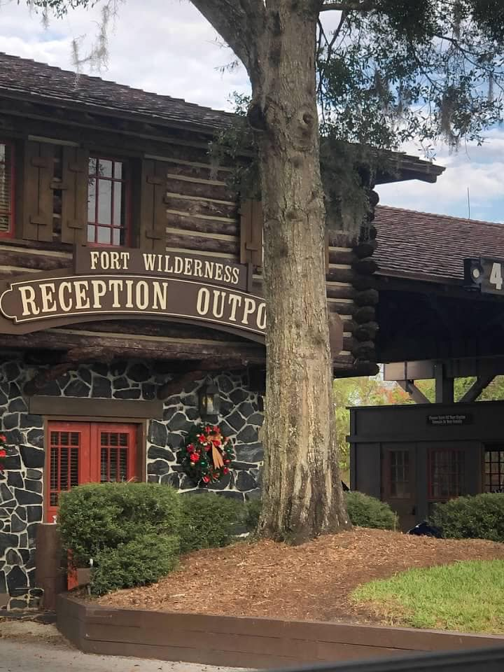 Reception Outpost at Disney's Fort Wilderness Resort