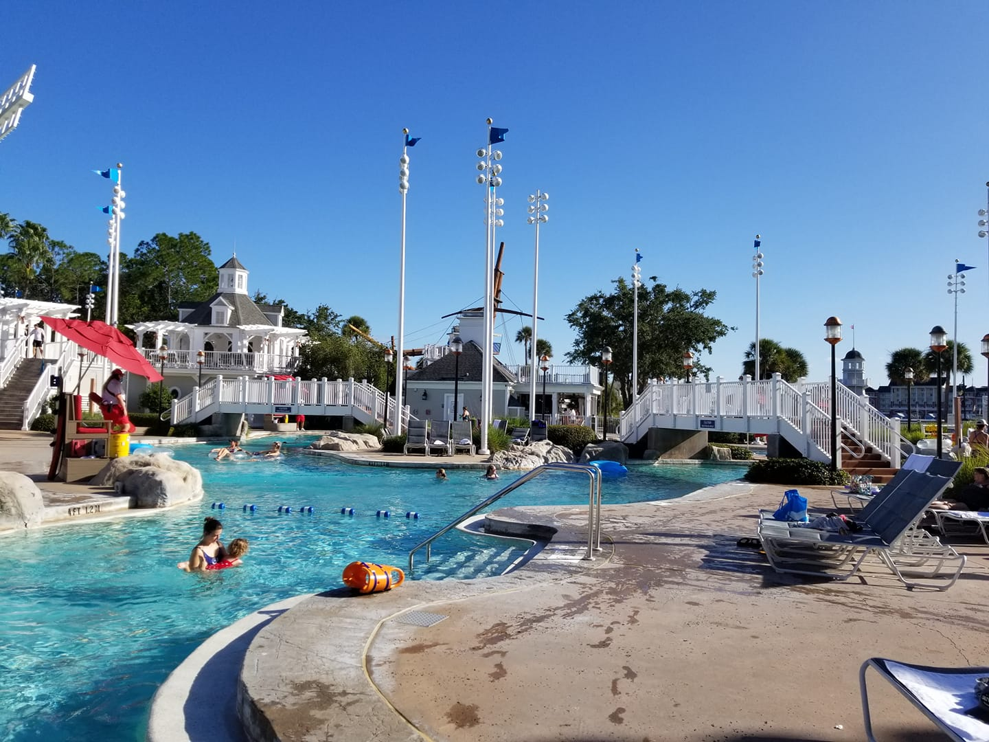 Stormalong Bay at Disney's Beach Club and Yacht Club Resorts