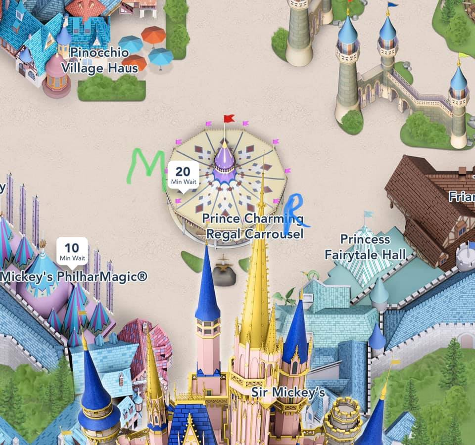 Prince Charming's Carousel Ride accessible information