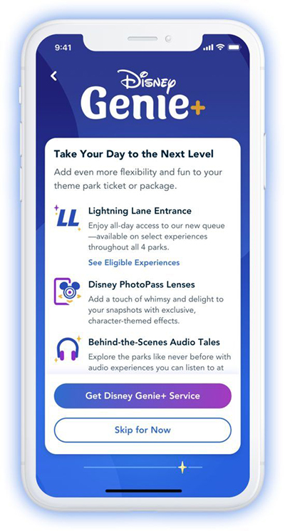 Additional perks for Genie+ at Disney World
